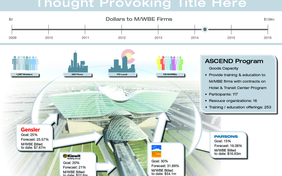 Denver International Airport Infographic