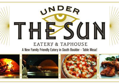 Under the Sun Print Campaign