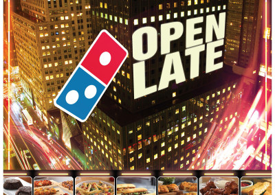 Open Late – Domino's