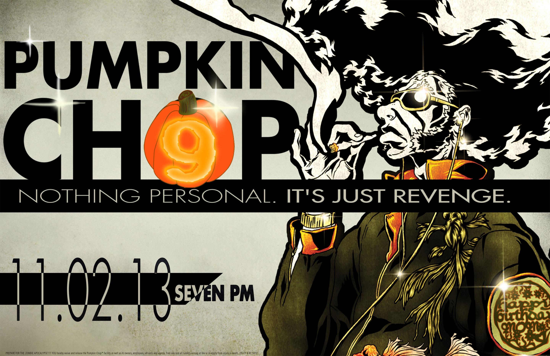 Pumpkin Chop Posters